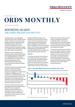 Ords Monthly Research Report